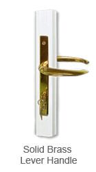 Storm Doors Solid Brass Lever Handle